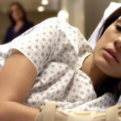 Melissa in the hospital