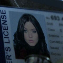 Vivian Darkbloom's fake I.D.