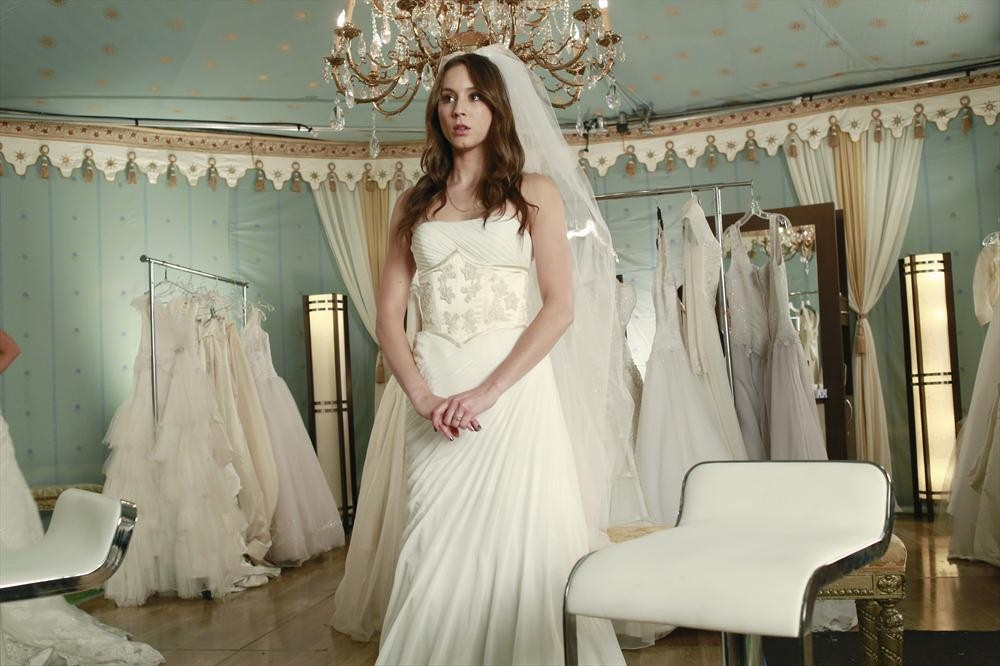 Troian Bellisario Wedding Dress Jpg