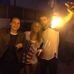 Nathaniel celebrating 4th of July 2015