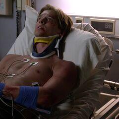 Jason in  the hospital