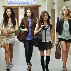 The Liars are walking by the RosewoodHigh Hall
