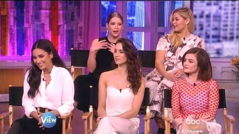 Cast Of Pretty Little Liars - Chat 5 Years Forward Before Premiere - The View-3