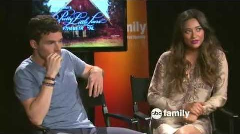 Ian Harding and Shay Mitchell Live Chat 08 27 2012