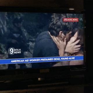 Ezra and Nicole are reunited