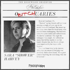 Freeform's official O<i>bitch</i>uary for Sara