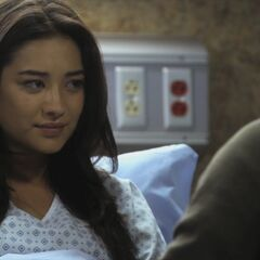 Emily's hospital room