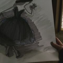 Black Swan dress Sketch