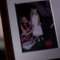 Jessica with Alison as a child