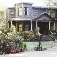 The house later in the series