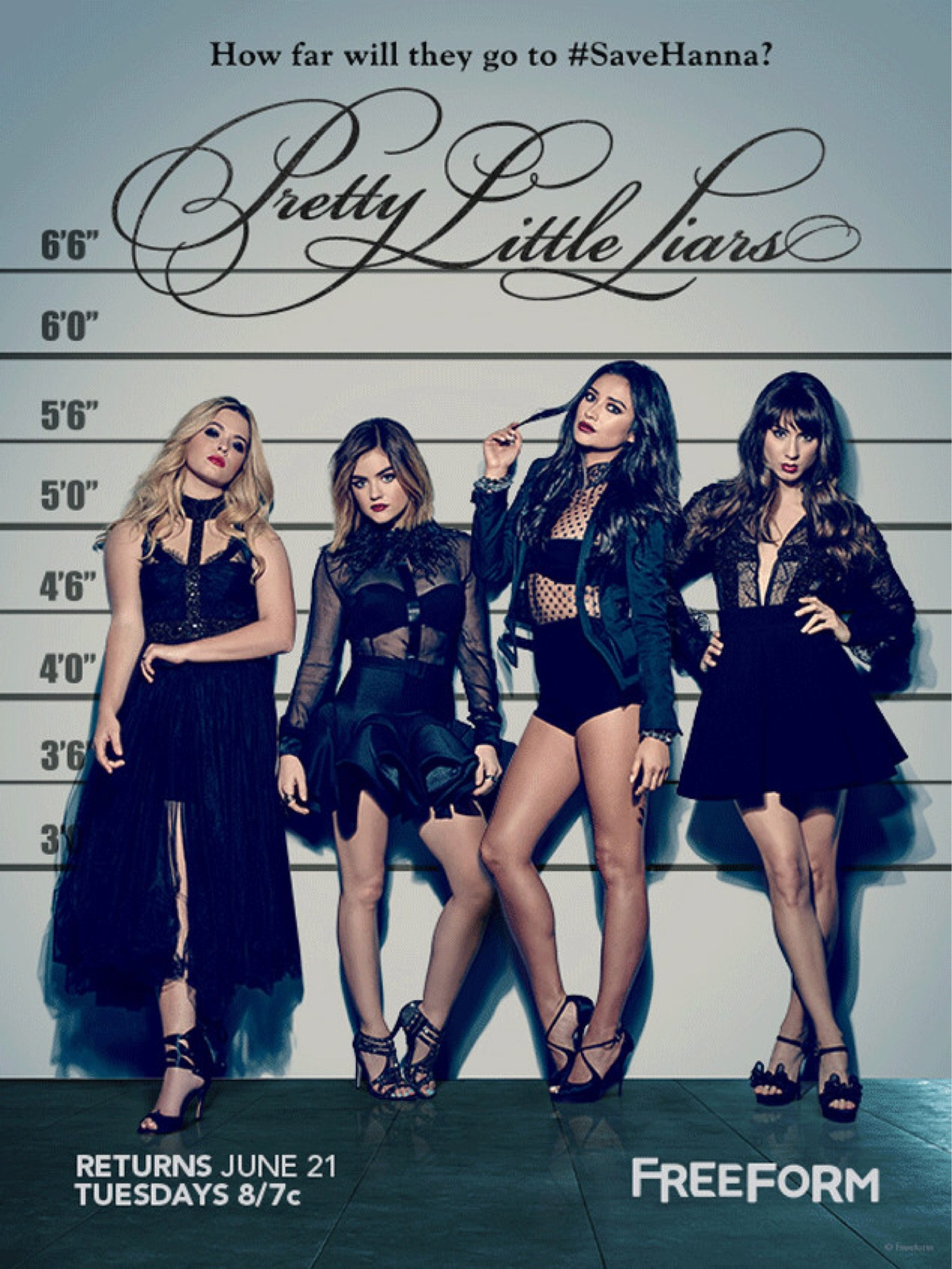 Pretty Little Liars Temporada 7 WEB DL 1080p Lat-Cast-Ing
