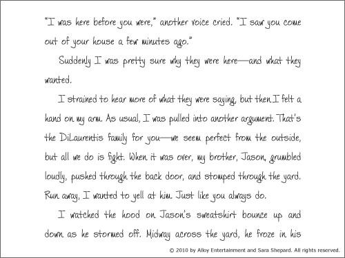 Alison's Pretty Little Diary 05