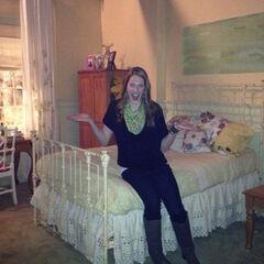 BTS of Missy in Emily's room