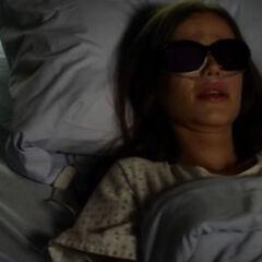 Jenna in the hospital