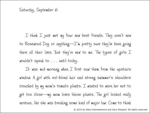 Alison's Pretty Little Diary 02