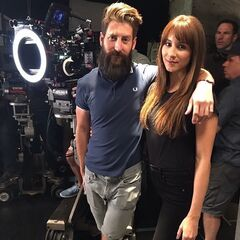 Troian and her brother BTS