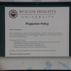 Plagarism policy