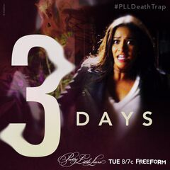 Three days until #PLLDeathTrap