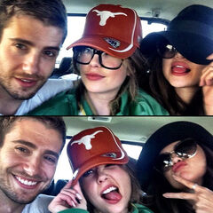 Julian, Ashley and Lucy