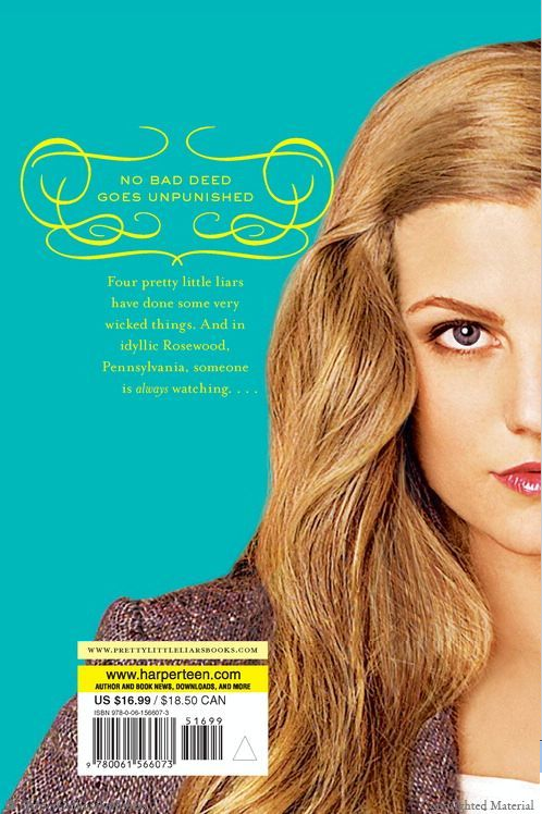 Sara Shepard Pretty Little Liars Pdf
