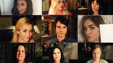 Pretty Little Liars - Special Message From the PLL Cast & Crew Summer Finale Tuesday at 8 7c