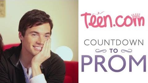Ian Harding asks Shay Mitchell to Prom! - Countdown to Prom