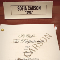Sofia's first Perfectioists script