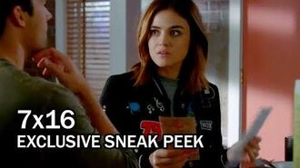 "Pretty Little Liars 7x16 EXCLUSIVE Sneak Peek 2 ""The Glove that Rocks the Cradle"""