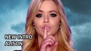 Pretty Little Liars Season 6B New Intro - Alison
