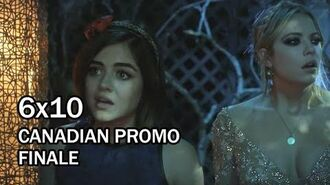 """Pretty Little Liars 6x10 CANADIAN Promo - """"Game Over, Charles"""" - Season 6 Summer Finale"""