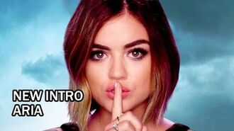 Pretty Little Liars Season 6B New Intro - Aria