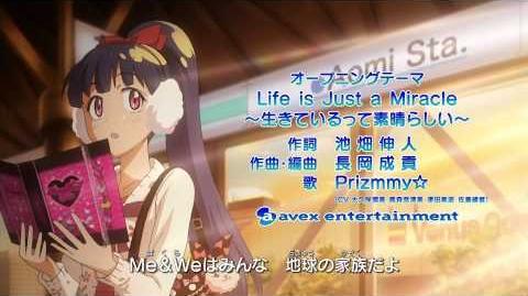 プリティーリズム・ディアマイフューチャー OP3 「Life is Just a Miracle」