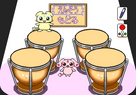 FwPC Pico game page 3 drums