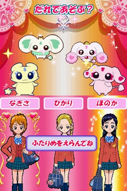 FwPCMH DS game chara select with Luminous