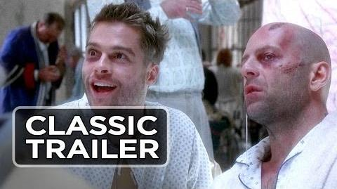 12 Monkeys Official Trailer 1 - Bruce Willis, Brad Pitt Movie (1995) HD