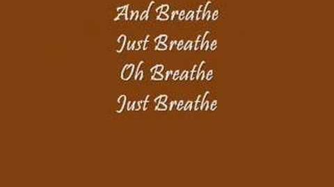 """Breathe (2 AM)"" By Anna Nalick WITH LYRICS"