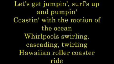 Hawaiian Roller Coaster Ride - Lyrics
