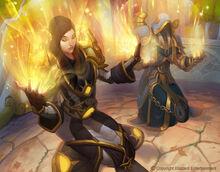 900x705 18030 Priest Holy 2d illustration fantasy elves sorceress wow world of warcraft picture image digital art