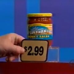 Second, she picks 6 salsa which come to...