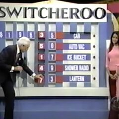 ...we've decided to go low-tech, and James will tell Bob where he wants the numbers.
