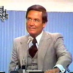Bob Barker on Match Game.
