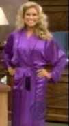 Rachel in Satin Sleepwear-44