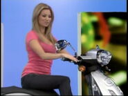 Amber Lancaster on Motor Scooter-2