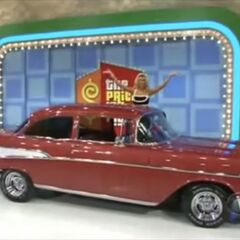 It's a 1957 Chevrolet Bel Air worth $28,500.