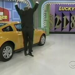 He says 5 and he won a brand new car!!!