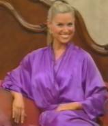 Rachel in Satin Sleepwear-37