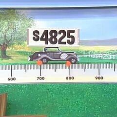 And, the other car is $4,825.