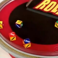 On his first roll, he has 2 cars and $3,000. He decides to roll again.