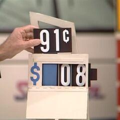 He says it's $908.
