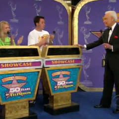 The podiums from 'Bob Barker's 50 Years of Television' special on May 17, 2007 (#023SP).